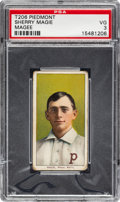 """Baseball Cards:Singles (Pre-1930), 1909-11 T206 Piedmont Sherry Magee """"Magie"""" Error PSA VG 3 - The Hobby's Most Famous Typo! ..."""