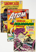Silver Age (1956-1969):Miscellaneous, Showcase Group of 5 (DC, 1957-63) Condition: Average GD.... (Total: 5 Comic Books)