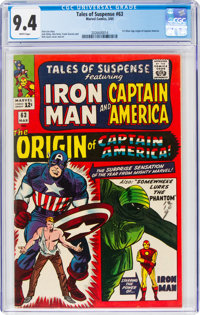 Tales of Suspense #63 (Marvel, 1965) CGC NM 9.4 White pages
