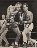 Photographs:20th Century, Hank Olen (American, 20th Century) and others. Seven Daily News Boxing Press Photographs (7 works), 1940-1949. Gelatin s... (Total: 7 )