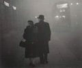 Photographs:Gelatin Silver, Grace Robertson (British, b. 1930). London Fog, 1949. Gelatin silver, printed later. 10-3/8 x 12-5/8 inches (26.4 x 32.1...