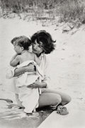 Photographs:Gelatin Silver, Mark Shaw (American, 1922-1969). A Group of Three Photographs of Jackie Kennedy, including two with Caroline (3 works), ... (Total: 3 )