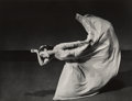 Photographs:Gelatin Silver, Barbara Morgan (American, 1900-1992). Martha Graham-Letter to the World (Kick), 1940. Gelatin silver, printed later. 10-...