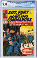 Silver Age (1956-1969):War, Sgt. Fury and His Howling Commandos #35 (Marvel, 1966) CGC NM/MT 9.8 Off-white to white pages....
