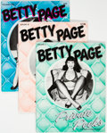 Magazines:Miscellaneous, Betty Page Private Peeks #1, 3, and 4 Group (Belier Press, 1978-80) Condition: Average FN/VF.... (Total: 3 Items)