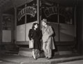 Photographs:Gelatin Silver, Walter Rosenblum (American, 1919-2000). Young Couple-Billiard Parlor, Pitt St., 1938. Gelatin silver, printed later. 10-...
