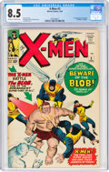 Silver Age (1956-1969):Superhero, X-Men #3 (Marvel, 1964) CGC VF+ 8.5 Off-white to white pages....