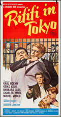 Movie Posters:Crime, Rififi in Tokyo & Other Lot (MGM, 1963). Folded, Overall: ...