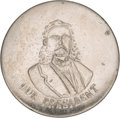 Political:Ferrotypes / Photo Badges (pre-1896), Chester A. Arthur: An Extremely Rare Pinback Portrait Badge. . ...