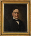 Political:Posters & Broadsides (1896-present), William McKinley: Large Oil Painting.. ...