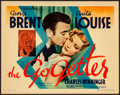 """Movie Posters:Comedy, The Go Getter (Warner Brothers, 1937). Very Fine-. Title Lobby Card (11"""" X 14""""). Comedy.. ..."""