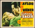 Movie Posters:Film Noir, Johnny Eager (MGM, 1942). Fine+. Title Lobby Card ...