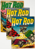 Golden Age (1938-1955):Adventure, Hot Rod and Speedway Comics Group of 5 (Hillman Publications, 1952-53) Condition: Average VG.... (Total: 5 Comic Books)