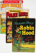 Golden Age (1938-1955):Miscellaneous, Golden to Silver Age Miscellaneous Comics Group of 8 (Various Publishers, 1950s-60s) Condition: Average GD.... (Total: 8 Comic Books)