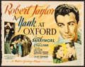 Movie Posters:Drama, A Yank at Oxford (MGM, 1938). Fine+. Trimmed Title...