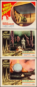 Movie Posters:Science Fiction, First Spaceship on Venus & Other Lot (Crown International,...