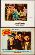 Movie Posters:Drama, The Grapes of Wrath & Other Lot (20th Century Fox, R-1956)...