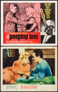 """Movie Posters:Drama, Lolita & Other Lot (MGM, 1962). Fine/Very Fine. Lobby Cards (2) (11"""" X 14""""). Drama.. ... (Total: 2 Items)"""