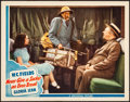 "Movie Posters:Comedy, Never Give a Sucker an Even Break (Universal, 1941). Very Fine. Lobby Card (11"" X 14""). Comedy.. ..."