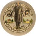 """Political:Pinback Buttons (1896-present), William Jennings Bryan: Large, Classic """"Lincoln to Washington"""" Button. . ..."""