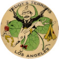 """Political:Pinback Buttons (1896-present), Theodore Roosevelt: Classic """"Teddy's Terrors"""" Pinback. . ..."""