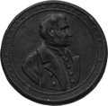 Political:3D & Other Display (pre-1896), Zachary Taylor: Shaving Mirror Top. . ...