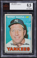 Baseball Cards:Singles (1960-1969), 1967 Topps Mickey Mantle #150 BVG EX-MT+ 6.5....