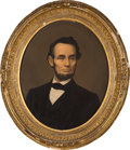 Political:3D & Other Display (pre-1896), Abraham Lincoln: Framed 1864 Chromolithograph by Middleton.. ...