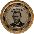 Political:Ferrotypes / Photo Badges (pre-1896), Ulysses S. Grant: Unlisted Back-to-Back Ferrotype.. ... (Total: 0 Items)