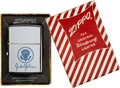 Political:Presidential Relics, Lyndon B. Johnson: Presidential Gift Zippo Lighter in Original Box.. ...