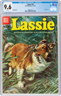 Golden Age (1938-1955):Miscellaneous, Lassie #25 (Dell, 1955) CGC NM+ 9.6 White pages....