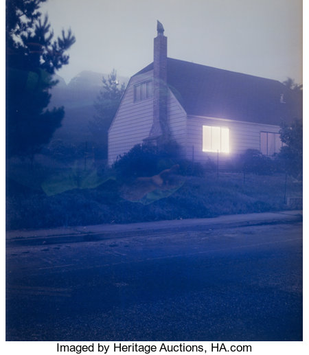 Todd Hido (American, b. 1968) Untitled (#2027-B) from the series House Hunting, 1997 Dye coupler 23-3/4 x 19-3/4 ...