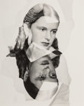 Photographs:Gelatin Silver, Man Ray (American, 1890-1976). Mrs. Julienne Levy, 1945. Gelatin silver. 9-5/8 x 7-5/8 inches (24.4 ...
