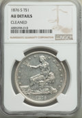 Trade Dollars: , 1876-S T$1 -- Cleaned -- NGC Details. AU. NGC Census: (26/777). PCGS Population: (57/959). AU50. Mintage 5,227,000. . F...