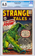 Silver Age (1956-1969):Adventure, Strange Tales #89 (Marvel, 1961) CGC FN+ 6.5 Off-white to white pages....