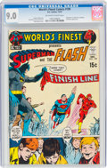 Bronze Age (1970-1979):Superhero, World's Finest Comics #199 (DC, 1970) CGC VF/NM 9.0 Off-white to white pages....
