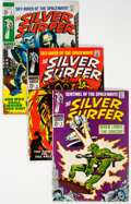 Silver Age (1956-1969):Superhero, The Silver Surfer Group of 6 (Marvel, 1968-69) Condition: Average FN+.... (Total: 6 Comic Books)