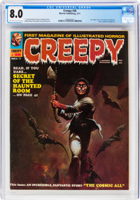Creepy #38 (Warren, 1971) CGC VF 8.0 Off-white to white pages