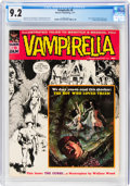 Magazines:Horror, Vampirella #9 (Warren, 1971) CGC NM- 9.2 Off-white to white pages....