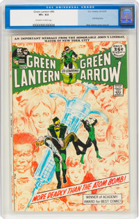 Green Lantern #86 (DC, 1971) CGC VF+ 8.5 Off-white to white pages