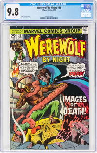 Werewolf by Night #36 (Marvel, 1976) CGC NM/MT 9.8 White pages