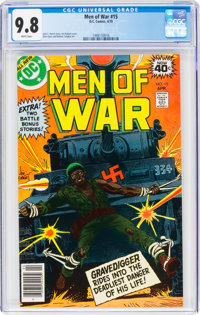 Men of War #15 (DC, 1979) CGC NM/MT 9.8 White pages