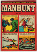 "Golden Age (1938-1955):Crime, Manhunt #7 Davis Crippen (""D"" Copy) Pedigree (Magazine Enterprises, 1948) Condition: VG+...."