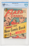 Golden Age (1938-1955):Superhero, Flash Comics Wheaties Promo nn (DC, 1946) CBCS GD/VG 3.0 White pages....
