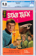 Silver Age (1956-1969):Science Fiction, Star Trek #1 (Gold Key, 1967) CGC VF/NM 9.0 Off-white to white pages....