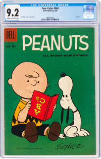 Four Color #969 Peanuts (Dell, 1959) CGC NM- 9.2 Cream to off-white pages
