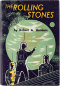 Books:Hardcover, Robert A. Heinlein The Rolling Stones First Edition (Scribner's, 1952)....