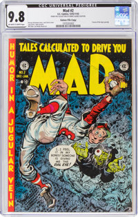 MAD #2 Gaines File Pedigree (EC, 1952) CGC NM/MT 9.8 Off-white to white pages