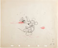 Animation Art:Production Drawing, Thru The Mirror Mickey Mouse Animati...