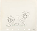 Animation Art:Production Drawing, Mickey's Trailer Mickey Mouse and Do...